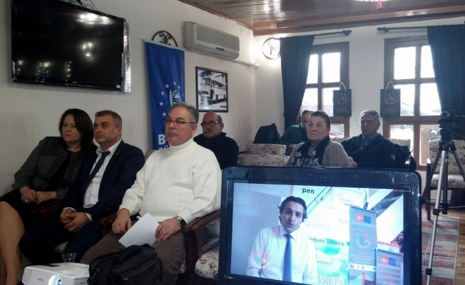 Conference via tele-video and Vatan OZ addressed the Turkey-England and EU relations