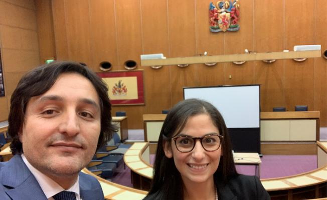 İngiltere'de en genç belediye meclis başkanı Nesil Çalışkan'a ziyaret