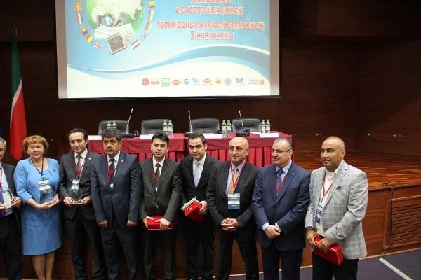 Türk Dünyası Gazetecileri Tataristan'da buluştu, Vatan ÖZ'e Avrupa Basın Ödülü