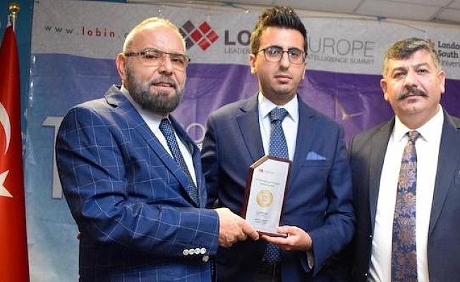 Uluslararası Avrupa Kalite Ödülü Vatan Öz'e verildi
